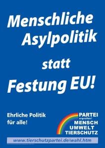 Menschliche Asylpolitik statt Festung EU