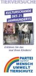 Faltblatt Tierversuche