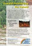 Flugblatt Palmöl