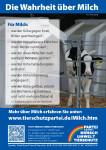 Flugblatt Milch