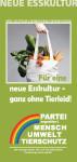 Faltblatt Neue Esskultur