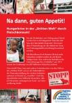 """Plakat """"Hunger wegen Fleisch"""""""