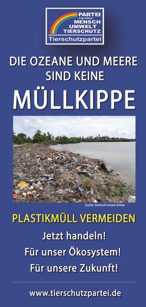 Plastik-Faltblatt
