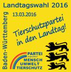Landtagswahl 2016 in Baden-Württemberg - Tierschutzpartei in den Landtag!