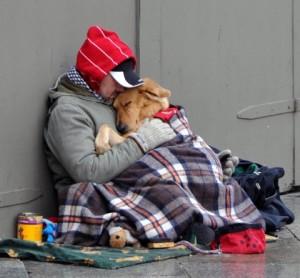 ObdachlosermitHund