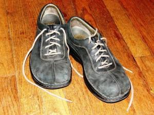 Leder-Schuhe
