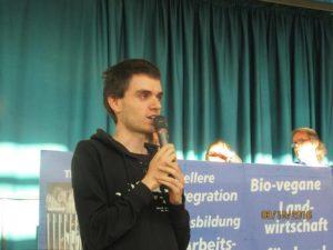 Evgueni Kivman, stellv. Schatzmeister von Berlin