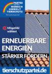 Wahlplakat Bundestagswahl Erneuerbare Energien