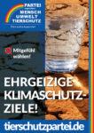 Wahlplakat Bundestagswahl Klimawandel