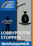 Wahlplakat Bundestagswahl Lobbypolitik