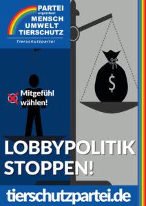 Lobbypolitik stoppen!