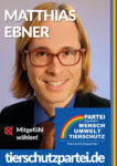 Wahlplakat Bundestagswahl Matthias Ebner
