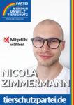 Wahlplakat Bundestagswahl Nicola Zimmermann
