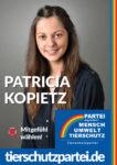 Wahlplakat Bundestagswahl Patricia Kopietz