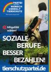 Wahlplakat Bundestagswahl Soziale Berufe