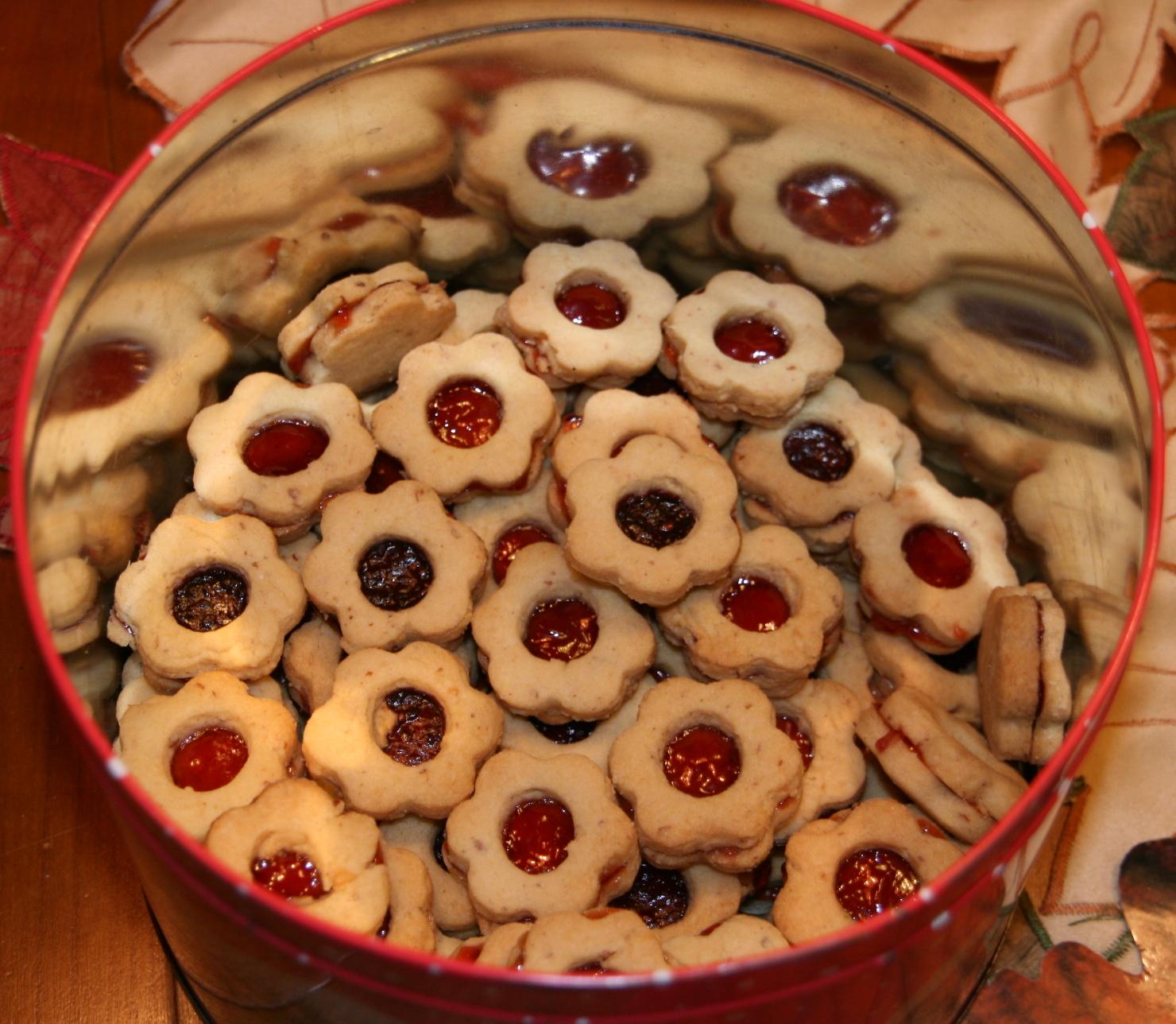 Linzer Weihnachtsplätzchen.Weihnachtsplaetzchen Marmelade Partei Mensch Umwelt Tierschutz