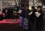 Mahnwache in Stuttgart für Streuner in Rumänien
