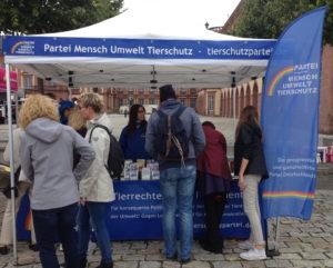 Unser Infostand beim CSD 2017 in Mannheim