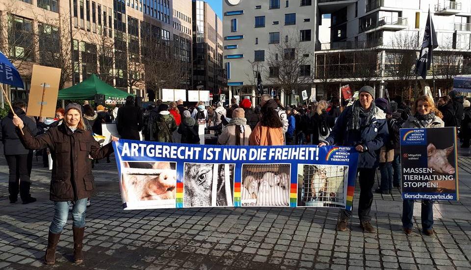 Demo Tiertransporte Brüssel: Artgerecht ist nur die Freiheit