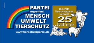25 Jahre Tierschutzpartei