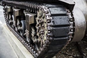 Panzer als Beispiel für das Rüstungsexportverbot