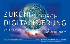Tierschutzpartei NRW Digitalisierung