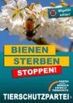 Wahlplakat Europawahl Bienen
