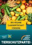 Wahlplakat Europawahl Biovegane Landwirtschaft