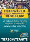 Wahlplakat Europawahl Finanzmärkte