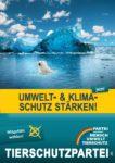 Wahlplakat Europawahl Klimaschutz