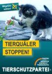 Wahlplakat Europawahl Tierquäler