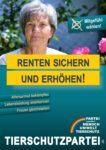 Wahlplakat Europawahl Renten