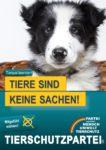 Wahlplakat Europawahl Tiere keine Sachen