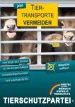 Wahlplakat Europawahl Tiertransporte