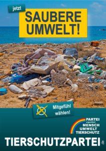 Wahlplakat Europawahl Umwelt