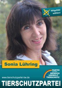 Wahlplakat Gemeinderatswahl Breisach Sonia Lühring