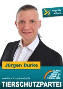 Das Wahlplakat von Jürgen Durke, unserem Spitzenkandidat zur Gemeinderatswahl in Lahr