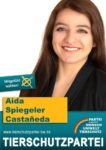 Wahlplakat Gemeinderatswahl Mannheim Aída Spiegeler Castañeda