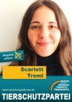 Das Wahlplakat von Scarlett Treml, unserer Spitzenkandidatin zur Regionalversammlungswahl Stuttgart