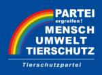 Logo weiß auf blau mit Kurzbezeichnung
