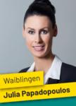 Gemeinderatswahl Waiblingen Julia Papadopoulos