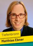 Gemeinderatswahl Tiefenbronn Matthias Ebner