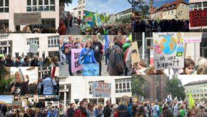 Tausende Menschen in Bayern für Klimaschutz