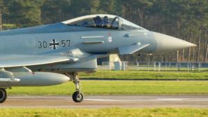 Sicherheitspolitik mit Bundeswehr-Typhoon?