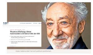Dieter Hallervorden sagt NEIN zur AfD