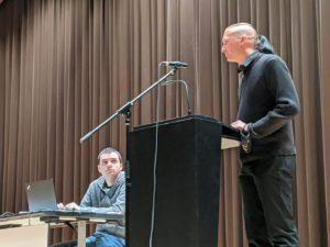 Jürgen Durke und Evgueni Kivman (v.r.)