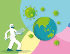 Corona-Impfung der Welt