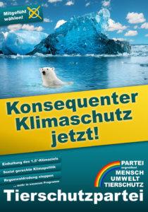Zentrale Forderung zur Bundestagswahl 2021: Konsequenter Klimaschutz!