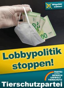 Die Bundestagswahl 2021 nutzen, um endlich Lobbypolitik zu stoppen