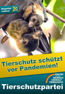 Bundestagswahl 2021: Tierschutz schützt vor Pandemien